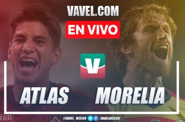 Resumen y video goles Atlas 1-3 Monarcas Morelia en Liga MX 2020