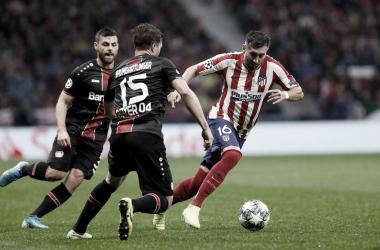Morata hunde al Bayer Leverkusen