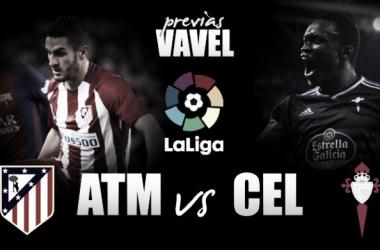 Previa Atlético de Madrid - Celta de Vigo: la liga como medicina