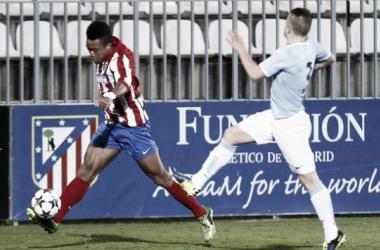 El Atlético de Madrid se despide de la UEFA Youth League tras caer ante el Manchester City