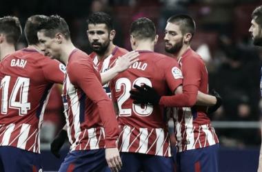El Atlético quiere la Copa y ya está en cuartos de final