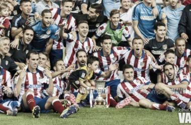 La Supercopa fue el primer y único título de la temporada para el Atleti. Foto: Jaime Del Campo