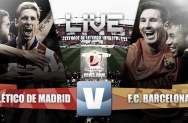 Live Copa del Rey 2015 : le match Atlético Madrid - FC Barcelone en direct