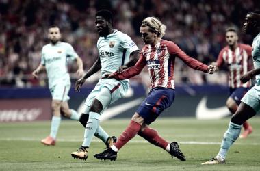 El Atlético de Madrid no ha ganado después de parón de selecciones esta temporada
