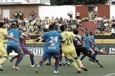 Con algunas dudas, Atlético Bucaramanga derrotó 3-1 a Universitario de Popayán
