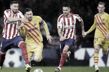 Gols e melhores momentos de Atlético de Madrid 2 x 0 Barcelona pelo Campeonato Espanhol