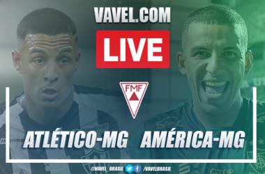 Gols e melhores momentos Atlético-MG 3x1 América-MG pelo Campeonato Mineiro