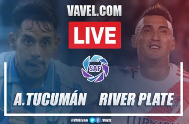 Goals and highlights: Atlético Tucumán 1-1 River Plate, 2020 Superliga Argentina