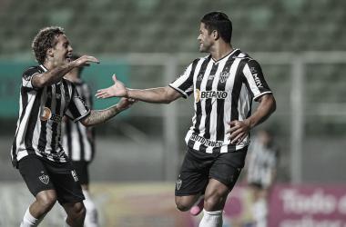 Galo vence sem dificuldades, e com mais um gol de Hulk (Foto: Pedro Souza/Atlético-MG)