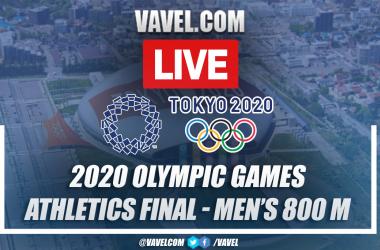 Highlights: Men's Athletics 800m Final in Tokyo 2020
