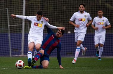Lance del Atlético Levante-Hércules de esta temporada | Hugo Izquierdo (VAVEL)