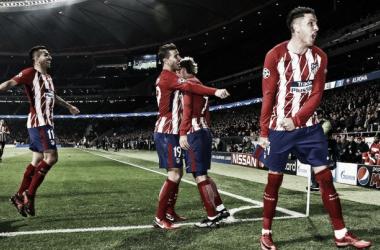 Euforia tras el gol de Griezmann en el Metropolitano   ATM