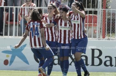 El Atlético de Madrid, campeón liguero por primera vez. | Foto: Lucía Damiano (Vavel).