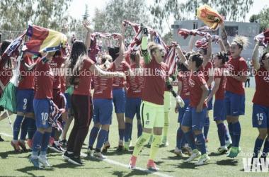 Fútbol Femenino: la historia se tiñe de rojiblanco
