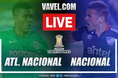 Resumen Atlético Nacional vs Club Nacional (0-0) en la fecha 4 del grupo F por Copa Libertadores 2021