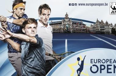 Cartel promocional del torneo ATP 250 Amberes. Foto: atpworldtour.com