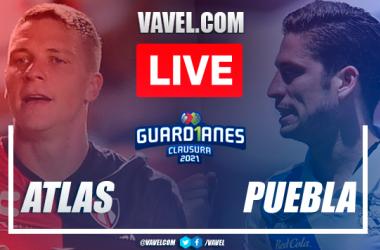 Goals andHighlightsof Atlas 1-0 Puebla on Liga MX 2021