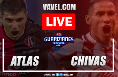 Goals andHighlightsof Atlas 0-1 Chivas on Liga MX 2021