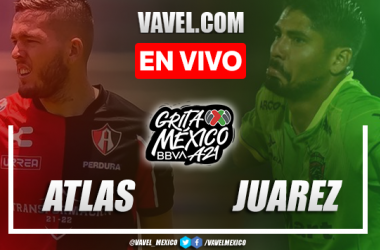 Goles y resumen del Atlas 2-0 FC Juárez en Liga MX 2021