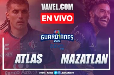 Goles y resumen: Atlas 1-1 Mazatlán en Liga MX Guard1anes 2020