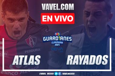Resumen y goles del Atlas 0-2 Monterrey en Liga MX Guadr1anes 2021