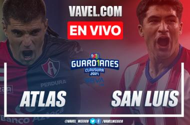 Goles y Resumen del Atlas 3-1 Atlético de San Luis, Jornada 9 Liga MX 2021