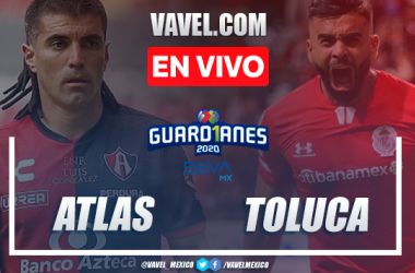 Goles y resumen: Atlas 1-2 Toluca en Liga MX 2020