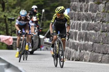 L'attacco decisivo di Chaves&nbsp; &nbsp; &nbsp; &nbsp; Fonte foto: Profilo Twitter Giro d'Italia<div><br></div>