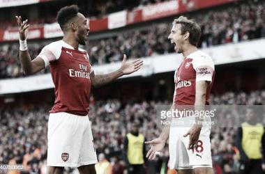 El Arsenal se está asentando en el torneo doméstico. Fuente: Getty Images.