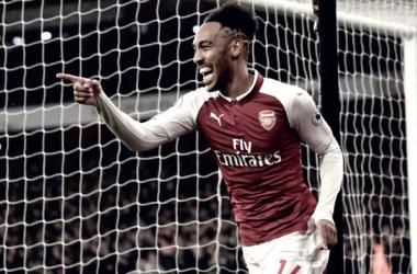 Aubameyang ya empezó a pagar con goles | Foto: Arsenal