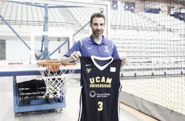 Alex Urtasun durante su presentación | Foto: UCAM Murcia