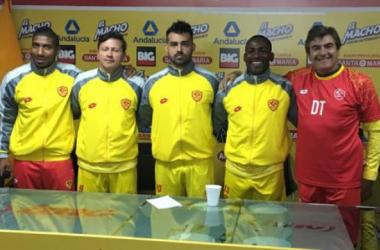 Presentación de nuevos refuerzos Sociedad Deportiva Aucas