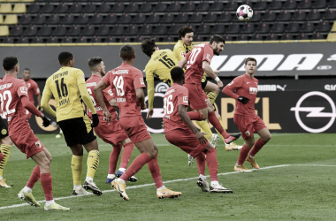 Borussia Dortmund deslancha no segundo tempo e vence Augsburg