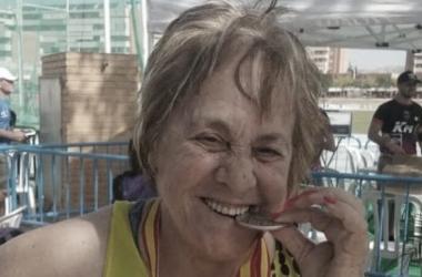 Aurelia Marín, la superabuela del atletismo murciano./ Fuente: laverdad.es