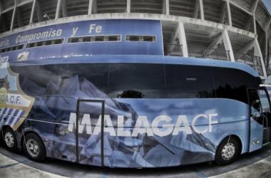 Autobús del Málaga CF. Foto: Málaga CF