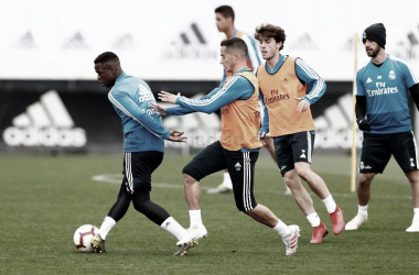 Vinicius Jr. ultimando su recuperación/Foto: Real Madrid C.F
