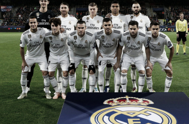 El once inicial del Real Madrid esta noche en Pilsen | foto: realmadrid.com
