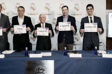 Presentación de la III Carrera Solidaria / Foto: Real Madrid CF