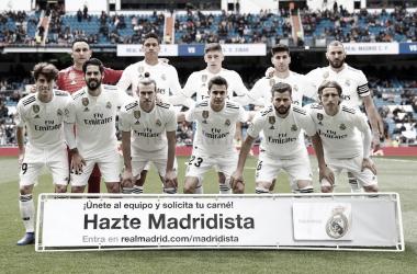 Once de Zidane para el encuentro/Foto: Real Madrid C.F