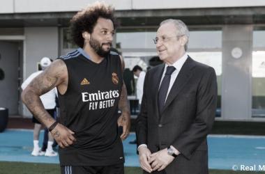 """Marcelo: """"Es un orgullo ser el capitán del mejor club del mundo"""""""