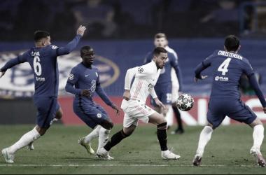 Una imagen que resume a la perfección la que fue el partido. // Foto: Real Madrid