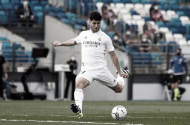 """Marco Asensio: """"Lo importante era ganar hoy"""""""