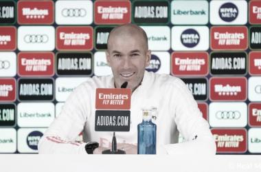 """Zidane: """"Es LaLiga, hay partidos complicados y sabemos que tendremos que sufrir para sumar puntos"""""""