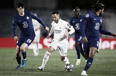 Imagen del partido de ida de las semifinales de la Chmapions League| Fuente: Real Madrid C.F