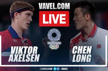 Highlights: Viktor Axelsen 2-0 Chen Long in badminton final match at Olympic Games 2020