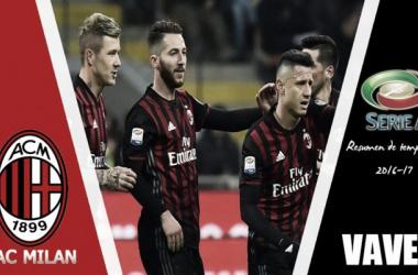 Resumen temporada 2016-17 Milan: luces y sombras pero deberes hechos