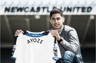 El Newcastle confirma aAyoze Pérez