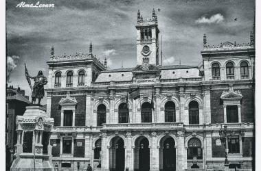 Valladolid. Plaza Mayor y Ayuntamiento en la actualidad. (Imagen: AlmaLeonor)
