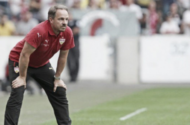 VfB Stuttgart part company with manager Alexander Zorniger