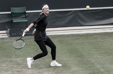 Victoria Azarenka venceu Yuliya Hatouka noWTA 250 de Bad Homburg 2021 (WTA / Divulgação)